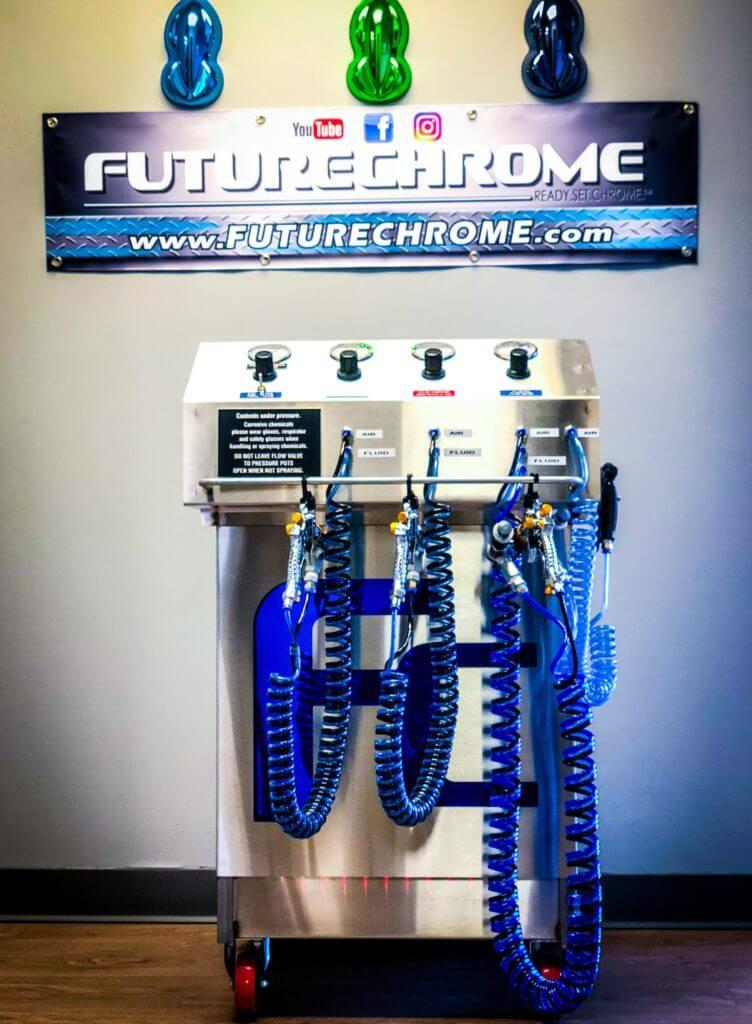 Spray Chrome Kit & Chrome Paint, Colored Chrome FutureChrome
